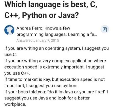 Programming languages!
